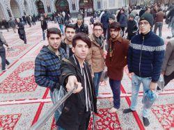 همراه بچه های مهندسی شیمی گرگان در مشهد مقدس