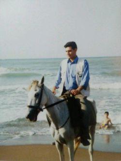 #اسب سواری#دریای خزر# خودم#