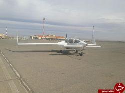 ساخت هواپیمای سبک دو نفره با نام آزیتا+اقتداری دیگر از نخبه های هوا و فضا!#موقت