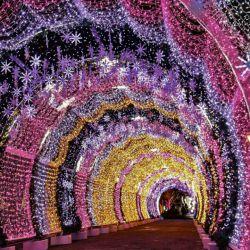 تونل کریسمس..روسیه