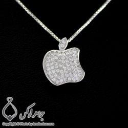 گردنبند نقره زنانه میکروستینگ مدل اپل _ کد : ۱۰۰۲۶۹ قیمت: 41 هزار تومان --- برای خرید به سایت مراجعه کنید www.Javaherlux.com --- یا با شماره 09334416110 تماس بگیرید یا تلگرام