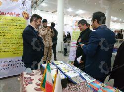 حضور رئیس شورای شهر اهواز - در غرفه تعاونی مهرخواه صنعت ---* تخم بلدرچین طلایی *--- ---* www.Mehrkhah.ir *---