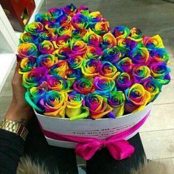 به دسته گل رنگارنگ تقدیم دوستای خوش رنگم........