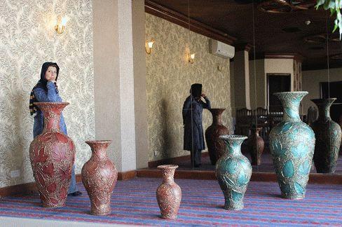 35 اثر هنری منحصر بفرد به یکی از هتلهای 5 ستاره تهران - محمدعلی اثنی عشری - مریم نامدار