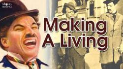 چارلی چاپلین در ساختن یک زندگی