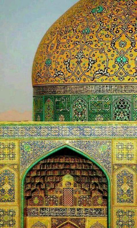 اصفهان مسجدشیخ لطف الله