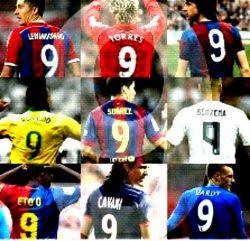 """بهترین """"9""""های تاریخ فوتبال"""