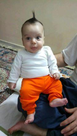 مهراب کوچولوی دو ماهه