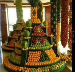 اینم میوه فروش هنرمند محلهء ما