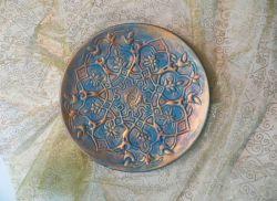 بشقاب پتینه ( کد 104 )