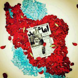 سالروز بازگشت امام به میهن و آغاز دهه ی فجر بر هموطنان مبارک باد. . . . . . . . #امام_آمد #دهه_فجر #فجر #12بهمن #امام_خمینی