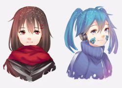 هر دو تا شخصیتام با هم (´・_・`)