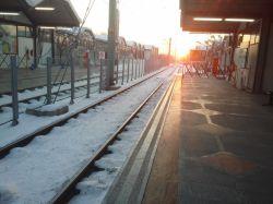 مشهد-ایستگاه مترو پارک ملت- 6 صبح