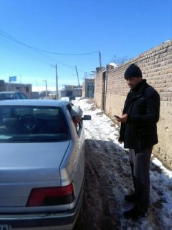 دخترگلم و دایی جونش# یه روز جمعه خواستیم بریم دل طبیعت،هم تو برف گیر کردیم هم ماشین داغ کرد،#اوضایی بود،اتفاقن خوش گذش،#