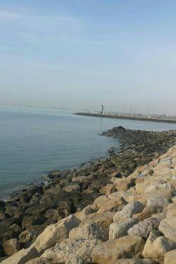 ساحل زیبای بندرعباس (عکس از خودم )