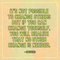 نمی شه دیگران رو تغییر داد،اما اگه بتونی خودتو تغییر بدهی ، می فهمی(به این نتیجه می رسی) که احتیاجی به تغییر دیگری نیست #انگلیسی  #english #English