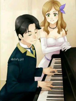 زندگے مثل پیانو است، دکمہ هاے سیاه براے غم ها و دکمه هاے سفید براے شادےها... اما زمانے مےتوان آهنگ زیبایے نواخت کہ دکمہ هاے سفید و سیاه را با هم فشار دهیم