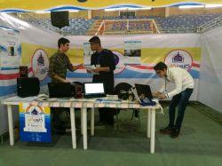 #کارون_کاپ در حال آماده سازی غرفه تیم  #انعکاس .. از دوستان خوزستانی دعوت میشود از دستاورد های ما دیدن فرمایند..اهواز .. بلوار گلستان .. گیت بوستان .. سالن 2500 نفری