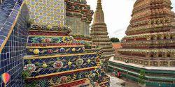 GASHTHA.COM معبد وات فو تور تایلند وات فو  یا معبد بودای خوابیده ،  پشت کاخ بودا زمردین تایلند (Wat Phra Kaew)  واقع شده است و مکانیست که هر فردی که برای بار اول از بانکوک دیدن می کند باید حتما از آن بازدید کند. این مکان یکی از بزرگترین مجموعه های معبد در شهر است و برای مجسمه بودای خوابیده اش که ۴۶ متر طول دارد و با برگ های طلا پوشانده شده است، شناخته شده است. منبع مطلب : GASHTHA.COM