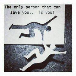 فقط خودمون میتوانیم به خودمان کمک کنیم...