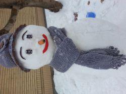اینم ادم برفی ما