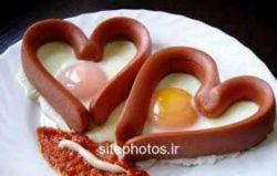 عشق یعنی  صبح از خواب بیدار بشی مامان خواب باشه ببینی بابا داره صبحانه درست میکنه.....  روز خوش