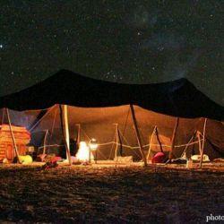 جلوایی زیبا از شب های کویری بلوچستان