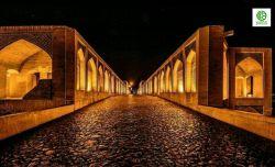 #شب_سرد اما زیبای #خواجو #اصفهان #نصف_جهان #نقش_جهان #شهرداری_اصفهان
