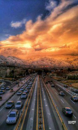 یک روز زیبا در تهران