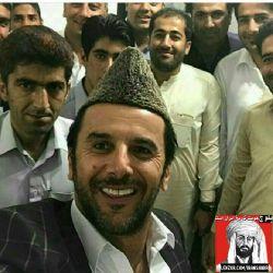 """امین حیایی در لباس اصیل و زیبای بلوچی  """" بلوچ هویت تاریخ ایران است """" @iranshahr"""