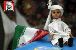 """عروسک محبوب ایرانی """" دارا """" در لباس بلوچی"""