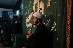 ﷽ #گزارش_تصویری  . ⚫️السّلام علیک ایّتها الصِّدیقه الشّهیده . عزاداری شهادت حضرت زهرا(سلام الله علیها)