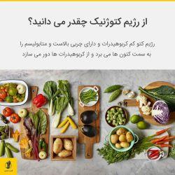 رژیم غذایی کتوژنیک (اغلب به شکل خلاصه کتو نامیده می شود) یک رژیم غذایی با کربوهیدرات پایین و چربی بالاست که ویژگی های زیادی از رژیم های غذایی آتکین (نوعی رژیم خاص که در مطالب آینده به آن میپردازیم) و کم کربوهیدارت را شامل می شود.