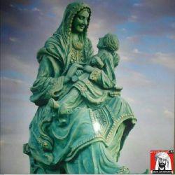 مجسمه کودک و مادر بلوچ