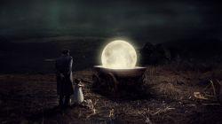 در بند گیرد تجربه، ماه را سوار بر...
