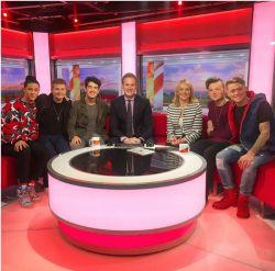 برنامه صبحانه BBC امروز صبح همراه با #یزدان و پسران !!