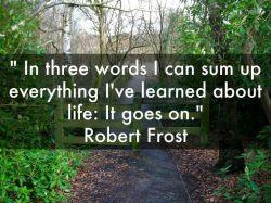 توی 3 تا لغت میتونم تمام اون چیزی که از زندگی یاد گرفتم خلاصه کنم :   این نیز بگذرد...