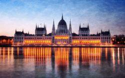 Hungary Budapest Parliament Reflection