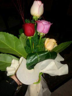 اینم از دست گل من واسه مامان جونم.