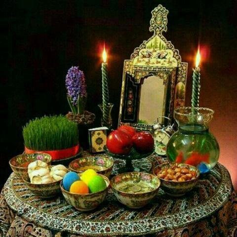 فرا رسیدن بهاردل انگیز با صدشکوفه ورایحه برشما دوستان عزیز مبارکباد ان شاالله دلتان شاد وآرزوهایتان برآورده