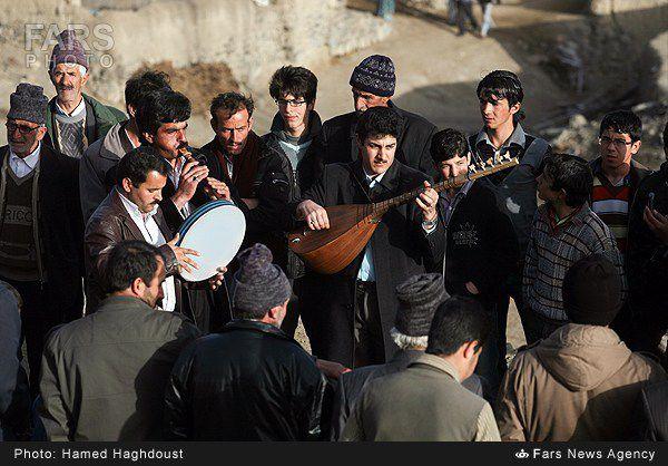 مراسم چهارشنبه سوری سنتی آذربایجان