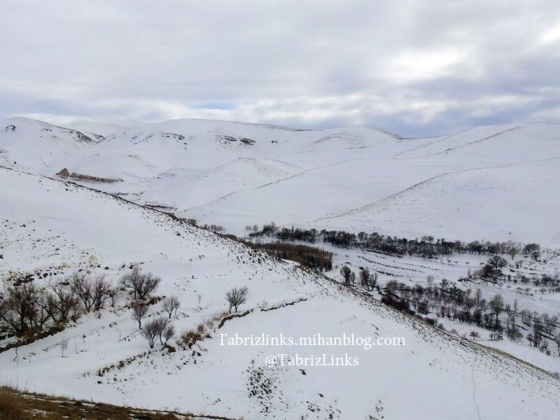 مناظر کندوان در فصل زمستان