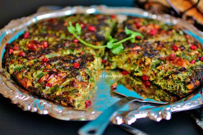 کوکو سبزی تبریزی