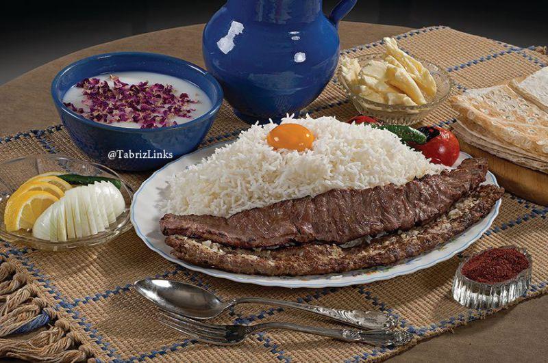 کباب برگ در تبریز