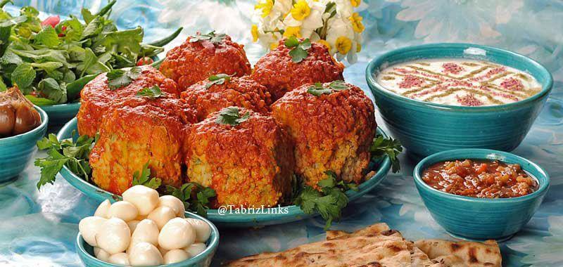 غذا کوفته تبریزی
