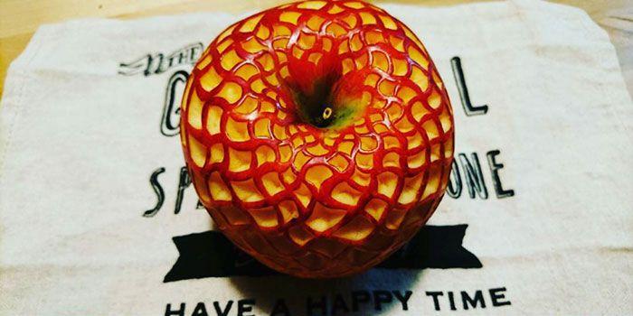 سبزی آرائی و میوه آرائی هنرمند ژاپنی Gaku
