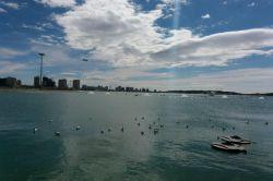 دریاچه چیتگر در یک روز بهاری
