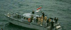 قایق آذرخش سپاه قدرتمند پاسداران