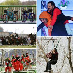 #نوروز امسال شهر #اصفهان حال و هوای متفاوتی دارد...