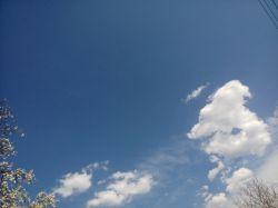 آسمون ابری بهاری :)